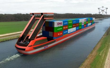 PortLiner Electric Barges