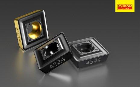 Пластины Sandvik Coromant GC4330 и GC4340