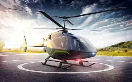 Вертолеты VRT500 в Скандинавии