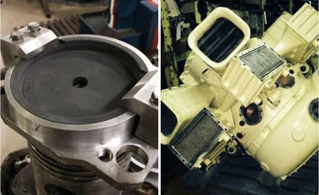 Дизельный двигатель М507А 01