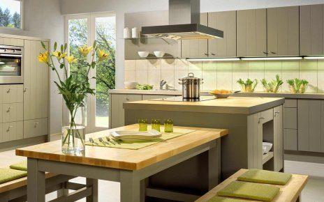 Эко дизайн кухни