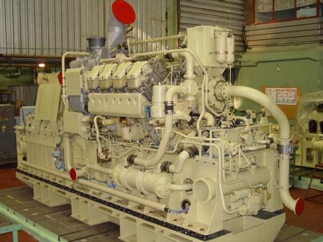 Судовой дизель-генератор АДГ-630