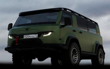 УАЗ-452 green