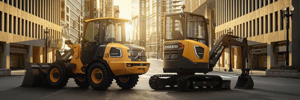 Volvo L25 and ECR25