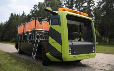 Unmanned Electric Vehicle Platform