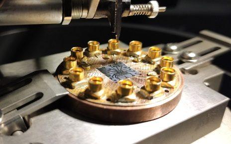 Quantum integrated circuit MIPT