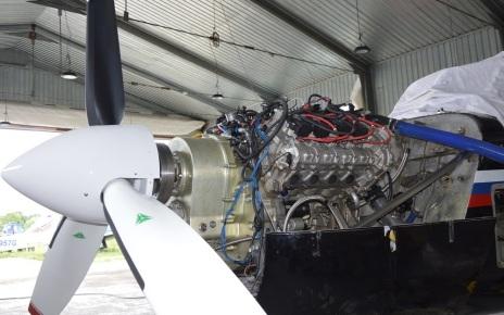 Двигатель-АПД-500 установили на самолет