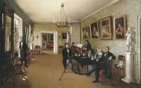 Портрет семьи Пушкаревых